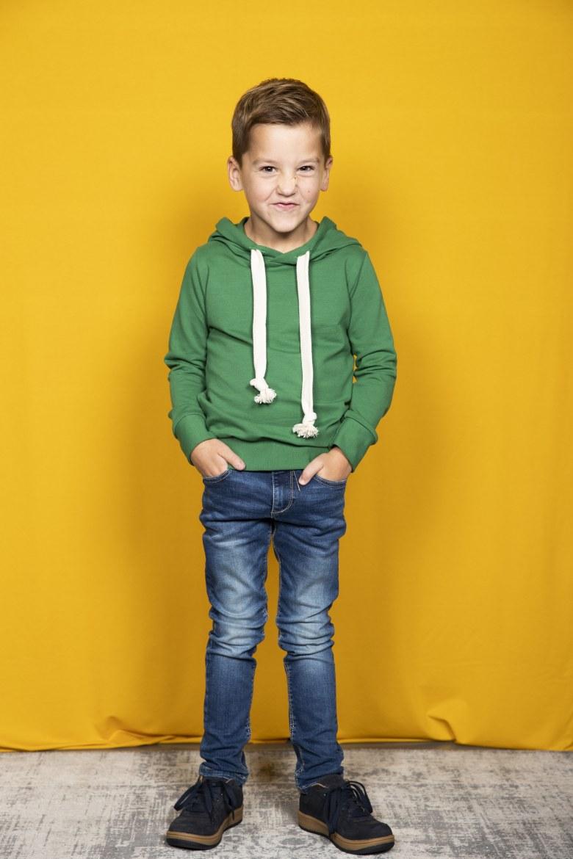 Hoodie groen   1