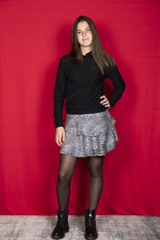 Sweater zwart (maat 152 - S)   1