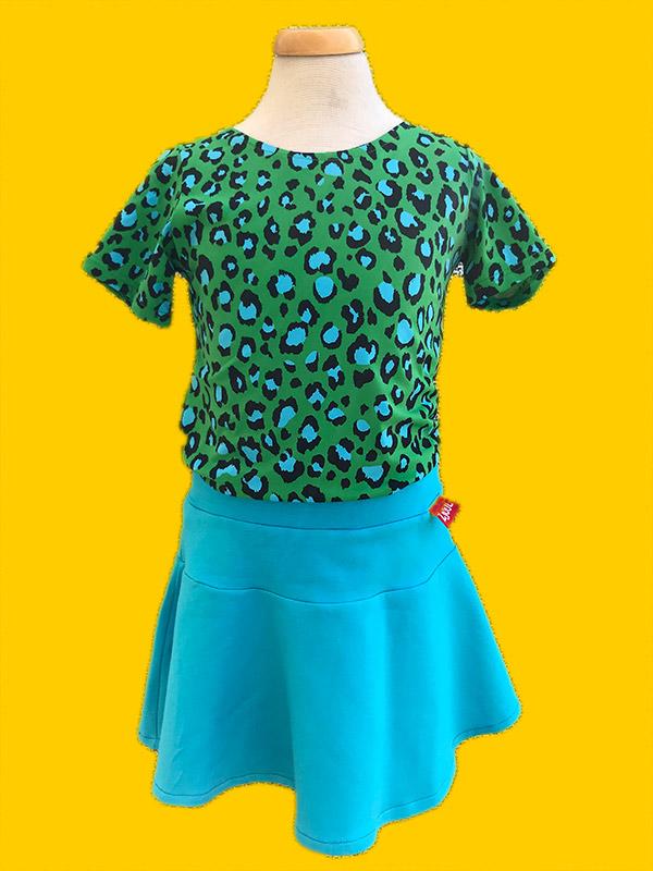 Shirt luipaard groen   1