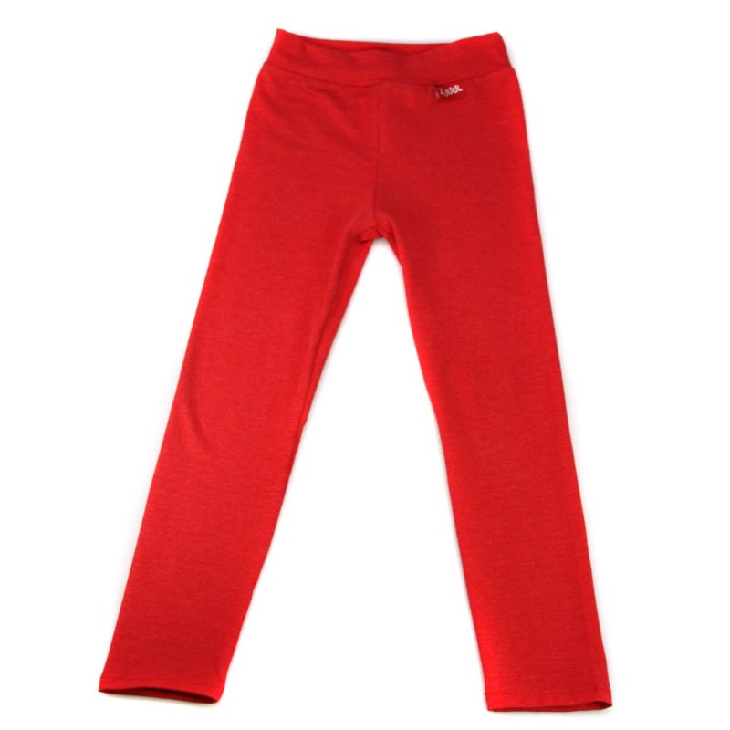 Legging uni rood