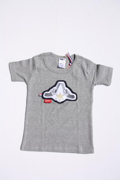 Shirt grijs met sheriff ster