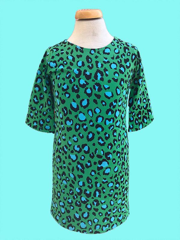 Jurkje luipaard groen
