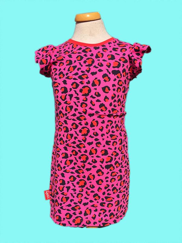 Jurkje luipaard roze