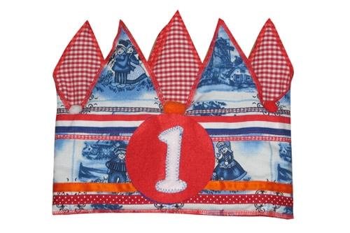 Verjaardagskroon Delfts blauw